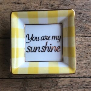 "Draper James ""You Are My Sunshine"" Tray"